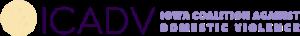 Iowa Coalition Against Domestic Violence logo